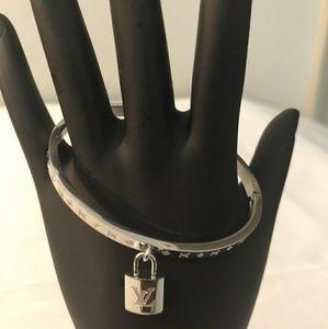 Louis V uitton Silver Bracelet